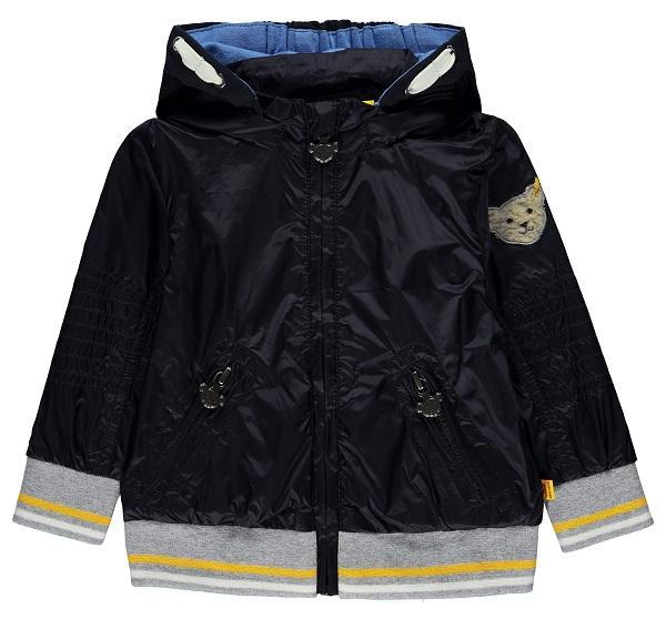 STEIFF® Sweatjacke Jacke mit Kapuze Marine Mädchen Junge Basic F 74-128 F//S NEU!